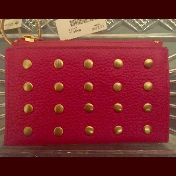 J. Crew Handbags - J Crew Change Purse—Gift Idea! 🦋